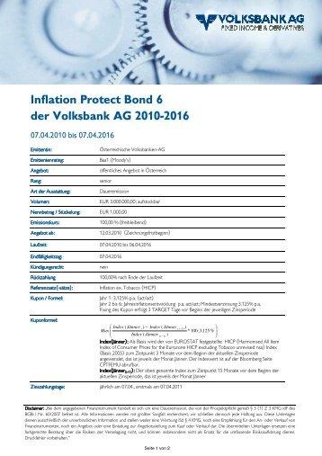 B06023 Inflation protect 6 TS - Volksbank