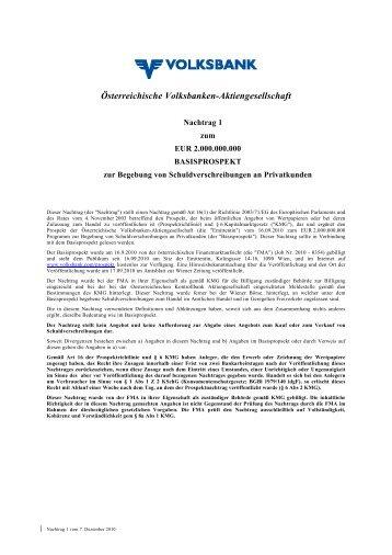 WIEN-#2050122-v1-WIEN-#2049960-v1 ... - Volksbank