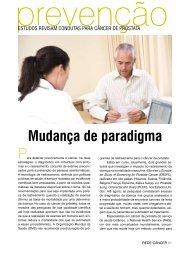 Mudança de paradigma - Instituto Nacional de Câncer