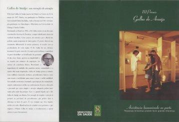 Galba do Araújo: um exemplo de atenção - BVS Ministério da Saúde