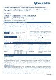 OEVAG PIB Muster Stufenzinsanleihe final draft - Volksbank AG