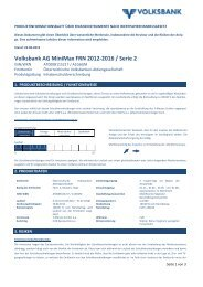OEVAG PIB Muster variable Verzinsung final draft - Volksbank