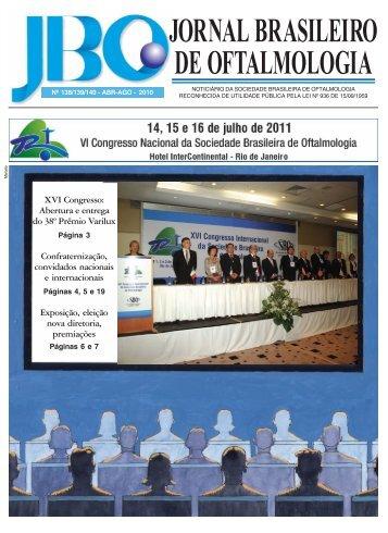 JORNAL BRASILEIRO DE OFTALMOLOGIA - Sociedade Brasileira ...