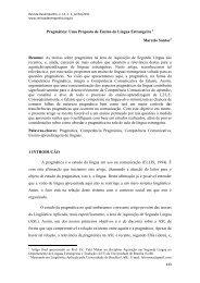 SANTOS_Pragmática Uma Proposta de Ensino de Língua