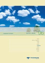 RAPORT ANUAL 2006 - Volksbank AG
