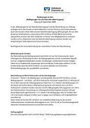 Bedingungen für die Datenfernübertragung - Volksbank Chemnitz eG