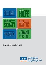 Geschäftsbericht 2011 - Volksbank Chemnitz eG