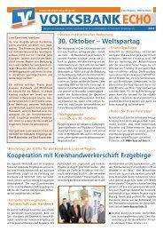 VOLKSBANKECHO - Volksbank Chemnitz eG