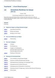 Einheitliche Richtlinien für Inkassi - Volksbank Chemnitz eG