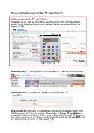 Umstellungsleitfaden zum sm@rtTAN plus Verfahren - Volksbank ...