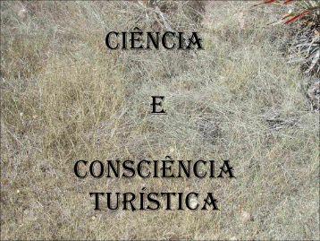 TURISMO CIENTÍFICO - Universidade Federal da Paraíba