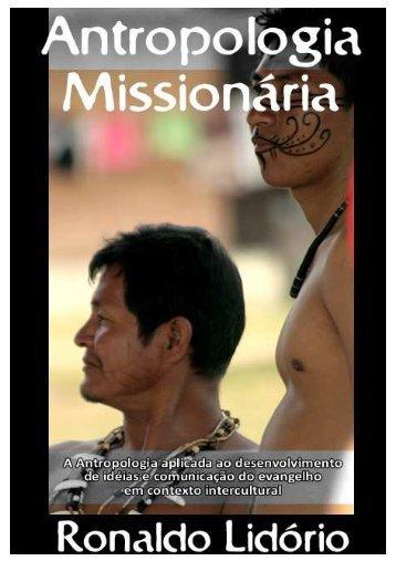 eBook - Antropologia Missionária - Ronaldo Lidorio - Juvep