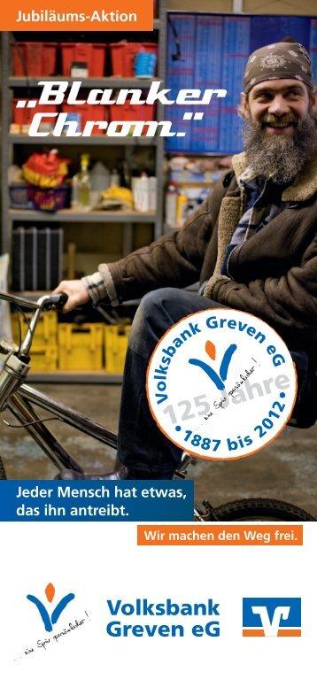 125 Jahre - Volksbank Greven eG