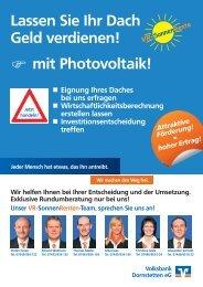 Sonnen - Volksbank Dornstetten eG