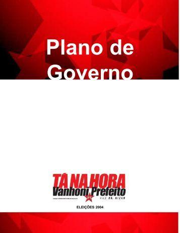 Diretrizes de Plano de Governo