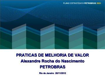 PRATICAS DE MELHORIA DE VALOR Alexandre ... - Fleming Gulf
