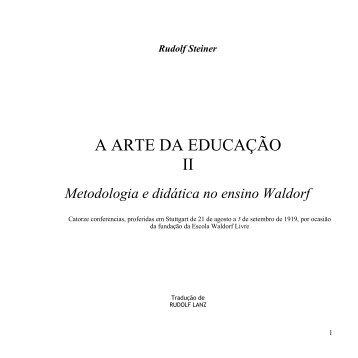 A Arte da Educação II - Cultura Digital