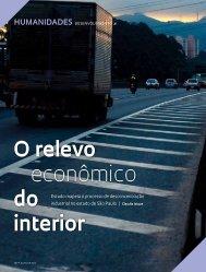 O relevo econômico do interior - Revista Pesquisa FAPESP
