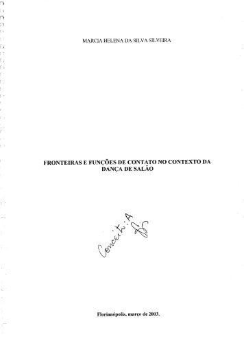 Marcia Helena da Silva - Fronteiras e funções de - Comunidade ...