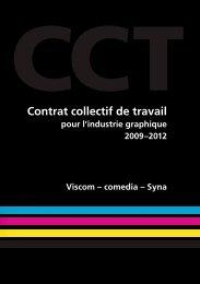 Contrat collectif de travail pour l'industrie graphique - Viscom