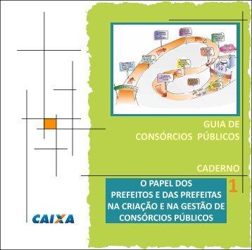 GUIA DE CONSÓRCIOS PÚBLICOS CADERNO - Sistema de ...