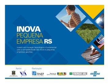 WorkShop Inova PE/RS - Inova Pequena Empresa RS