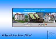 """Wohnpark Laupheim """"Mitte"""" - Volksbank Laupheim eG"""