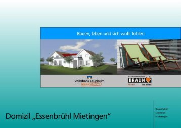 Download Expose (PDF/2,8 MB) - Volksbank Laupheim eG