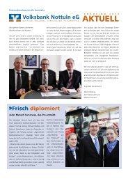Ausgabe 01/2013 - Volksbank Nottuln eG