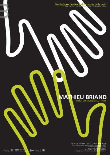 Mathieu Briand Ubïq: un monde flottant - Fondation Claude Verdan