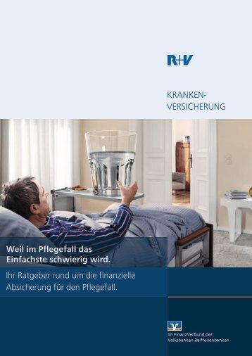 """R+V Ratgeber """"Weil im Pflegefall das Einfachste - Volksbank ..."""