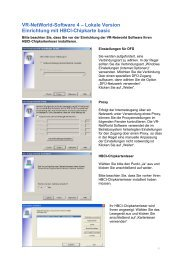 Anleitung VR-Networld Software HBCI-Chipkarte-basic Volksbank ...
