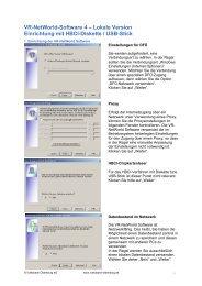 Anleitung VR-NetWorld Software HBCI-Datei - Volksbank Oldenburg ...