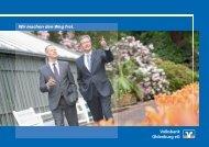 Jahresbericht Oldenburg RZ08.indd - Volksbank Oldenburg eG