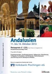 Andalusien - Volksbank Plochingen eG