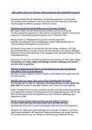 Informationen der R + V Versicherung - Volksbank Sulmtal eG