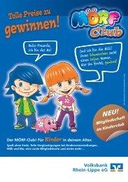 Tolle Preise zu gewinnen! - Volksbank Rhein-Lippe eG