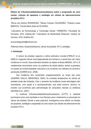 Anais do Congresso de Pesquisa, Ensino e Extensão ... - UFG