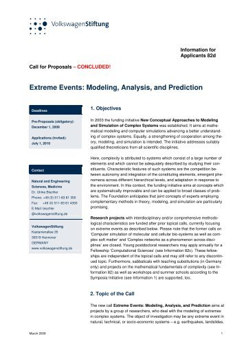 Extreme Events: Modeling, Analysis, and Prediction