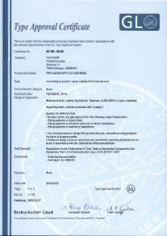 Type Approval Certificate - Volz Gruppe GmbH