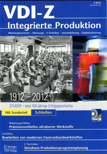 VDI-Z 03/2012 - Volz Gruppe GmbH