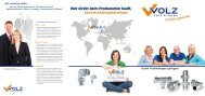 Unternehmensbroschüre - Volz Gruppe GmbH