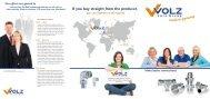 company brochure - Volz Gruppe GmbH