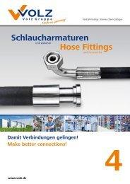 PDF Schlaucharmaturen - Hose Fittings - Volz Gruppe GmbH