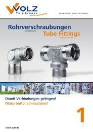 Rohrverschraubungen Tube Fittings