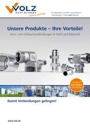 Unsere Produkte – Ihre Vorteile! - Volz Gruppe GmbH