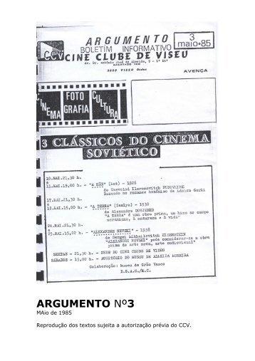 Argumento nº3 - Cine Clube de Viseu