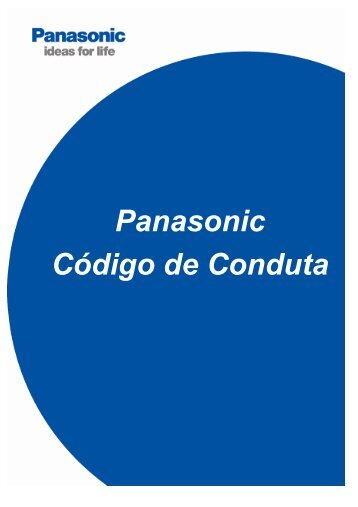Panasonic Code of Conduct