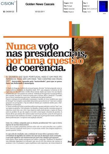Golden News - Casa Real Portuguesa