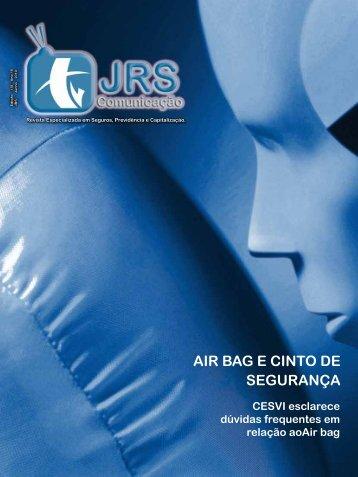 AIR BAG E CINTO DE SEGURANÇA - JRS Comunicação